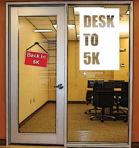 Image of the Desk to 5k challenge