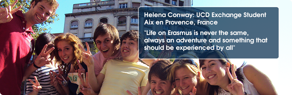 UCD Exchange Student Aix en Provence, France