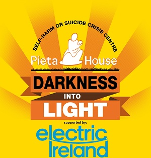 Darkness into Light event