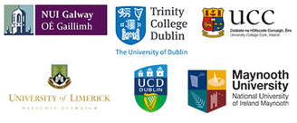 Image of crests from the universities participating in the LEAD programme