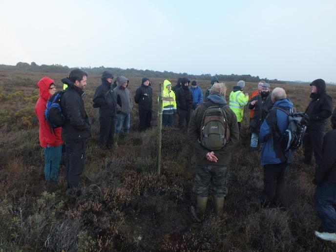 Interagency meeting - Ballynahone bog