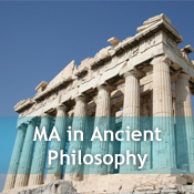 MA in Ancient Philosophy