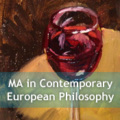 MA in Contemporary European Philosophy