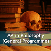 MA in Philosophy (General Programme)
