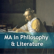 MA in Philosophy and Literature