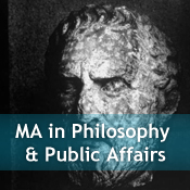 MA in Philosophy and Public Affairs