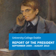 Front cover of President's Report 2010