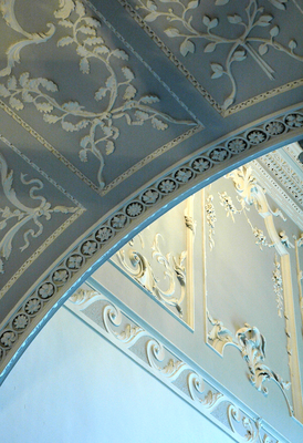 'Ornament, detail of the stair-hall'. Image by Ms Carla Briggs.