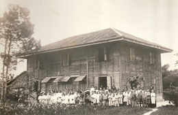 """Infant Jesus Convent School, Ipoh, Malaysia (c.1906)"". Image by Dr. Deirdre Raftery."