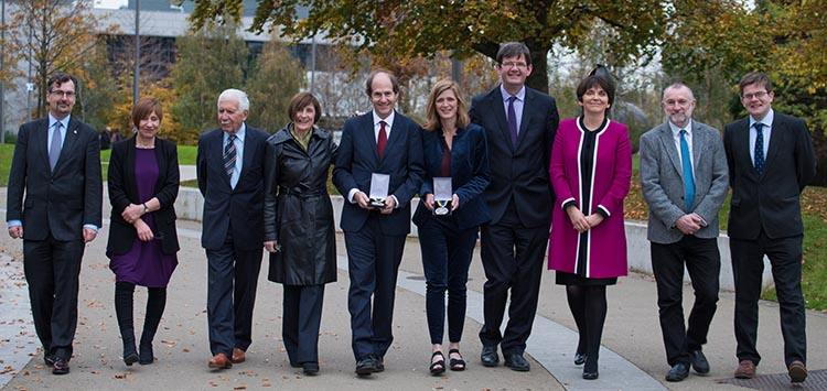 Samantha Power and Cass Sunstein receive Ulysses Medal