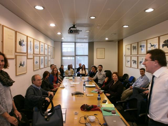 3DNET Mid Term Review Meeting at the Conway Institute Board-room