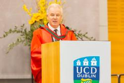 Prof Murray at UCD Medicine Conferring 2017