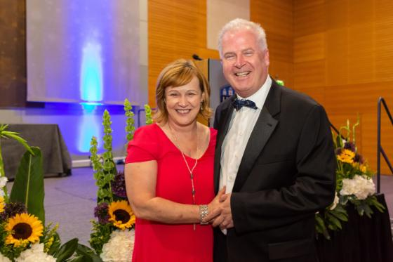 Prof Pat Murray and wife Trish