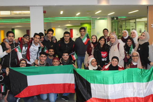 Student in UCD celebrate Kuwaiti National Day