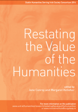 Restating the Value of the Humanities cover