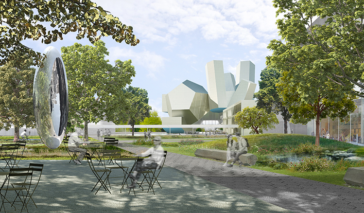 Concept Design, Steven Holl Architects: UCD Centre for Creative Design