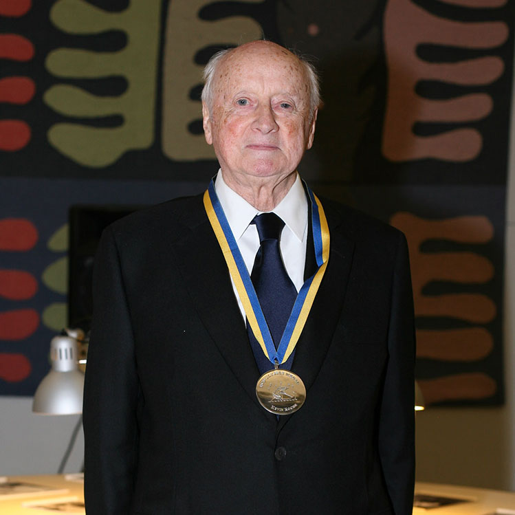 Kevin Roche awarded the UCD Ulysses Medal in 2012