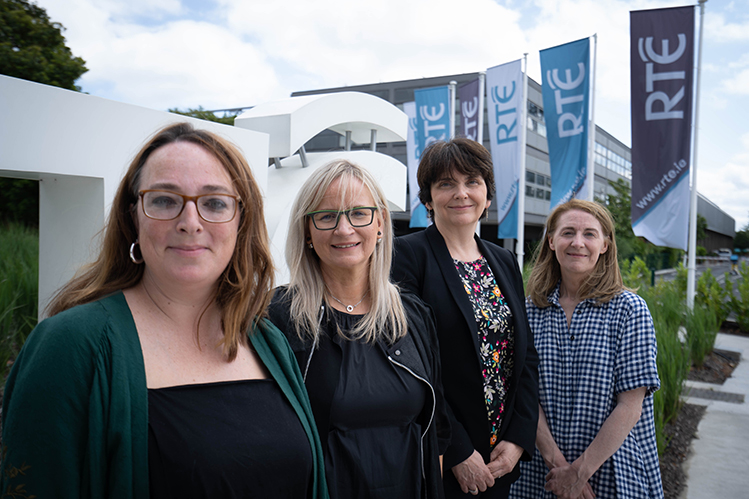 Pictured (L-R) at the launch of The RTÉ Radio 1 DAVIS NOW LECTURES 2019 in partnership with UCD : Architectural historian, Dr Ellen Rowley, UCD and consultant editor of the series; Director-General RTÉ, Dee Forbes; Professor Orla Feely, Vice-President for Research, Innovation & Impact, UCD; Series producer, RTÉ's, Clíodhna Ní Anluain.
