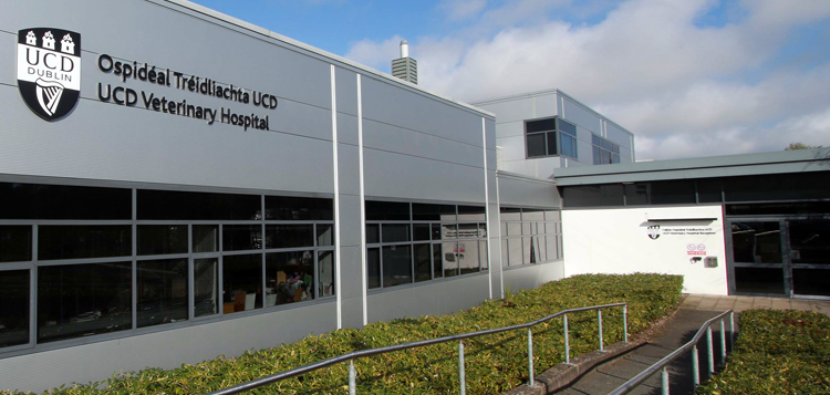 Photo of UCD Veterinary Hospital building