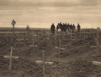 Serbia: The graves of Serbian soldiers, who died during the siege of Adrianople, 1913 Source: Tchernoff (c)